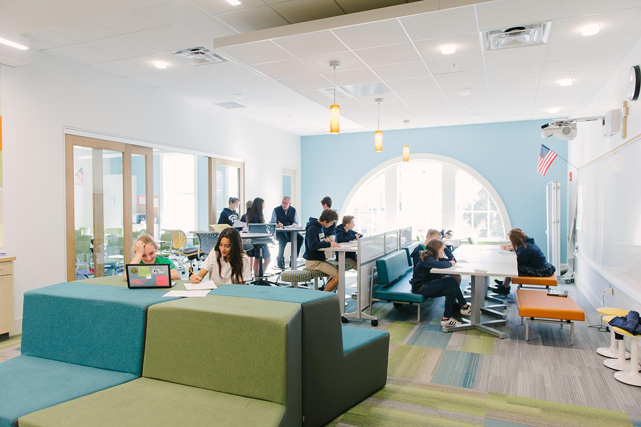 Master Plan, Pathfinders and Design for Academy of the Holy Names, Tampa, Florida by Education Design International