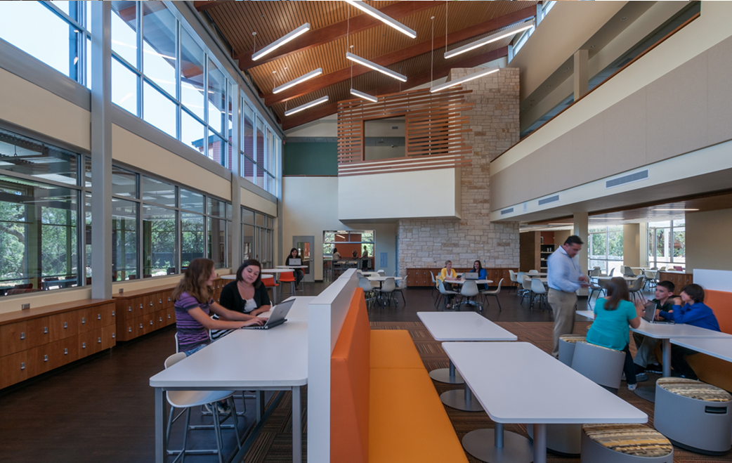 Master Planning, Architectural Design and Interior Design for Anne Frank Inspire Academy, San Antonio, Texas by Fielding Nair International