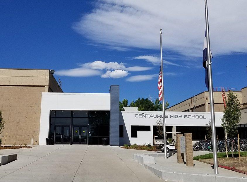 Centaurus High School, Boulder Valley, Colorado