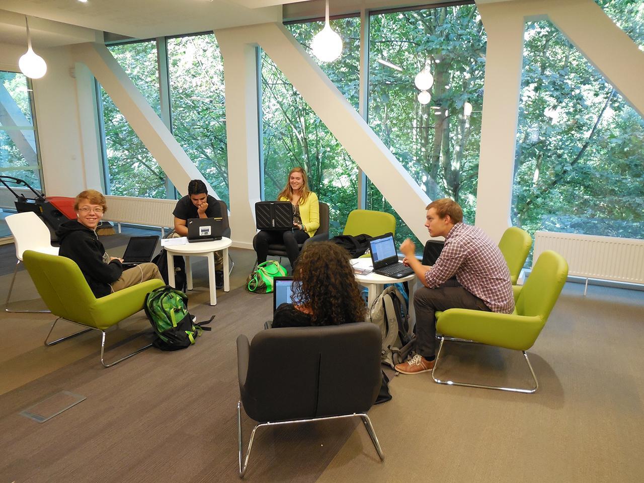 School Architecture Plan for International School of Brussels, Belgium by Education Design International