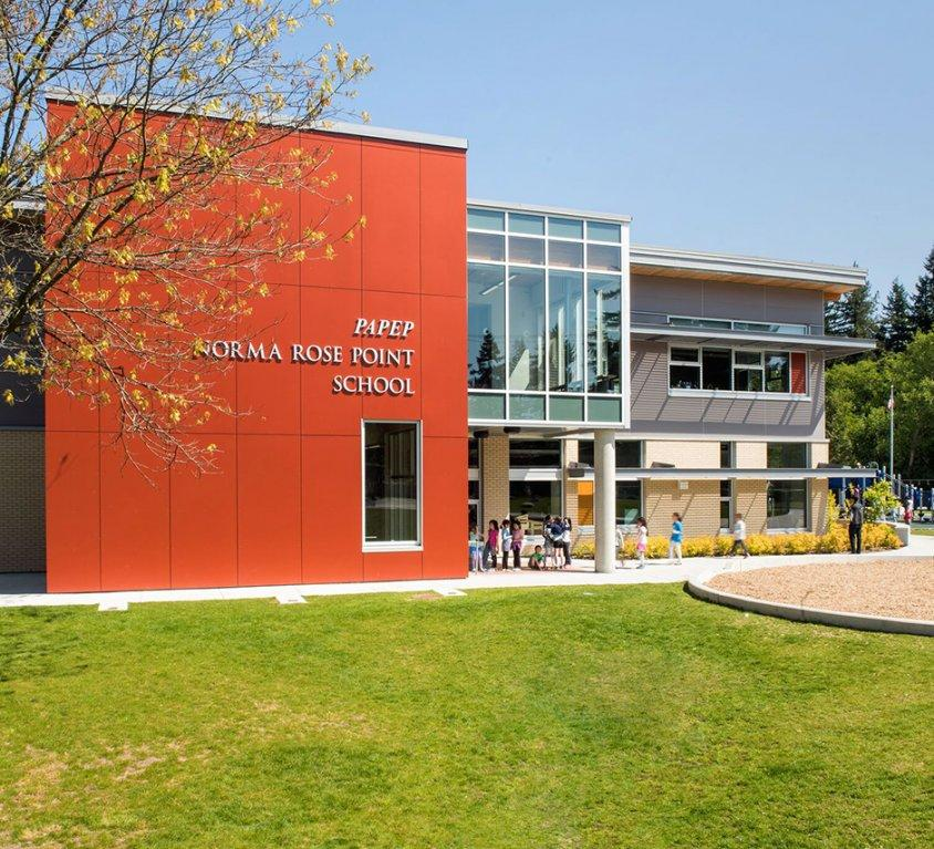 Norma Rose Point School, Vancouver BC, Canada